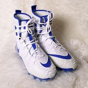 Nike Force Savage Elite TD Football Cleat Blue